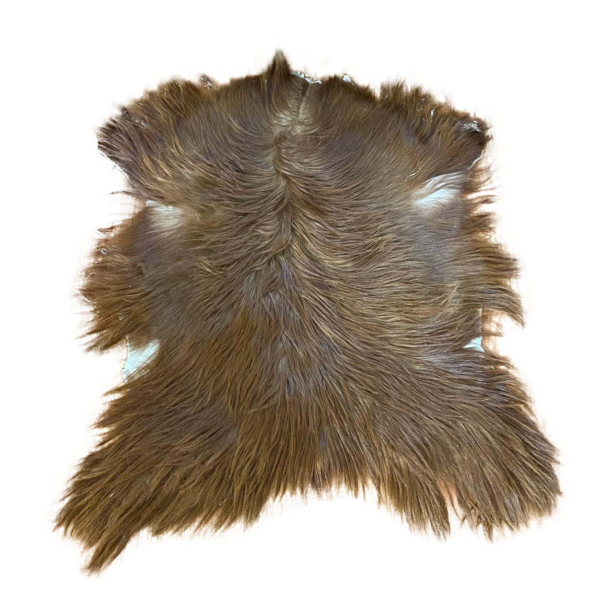 Natural Anatolian Turkish Goatskin Rug