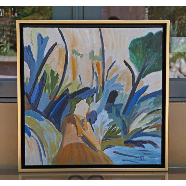 """Canvas """"Breath of Fresh Air"""" Painting by Laurie MacMillan For Sale - Image 7 of 7"""