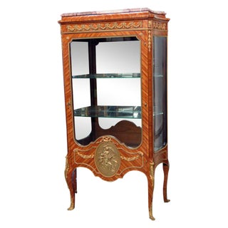 Early 20th Century Louis XV Francois Linke Style Vitrine