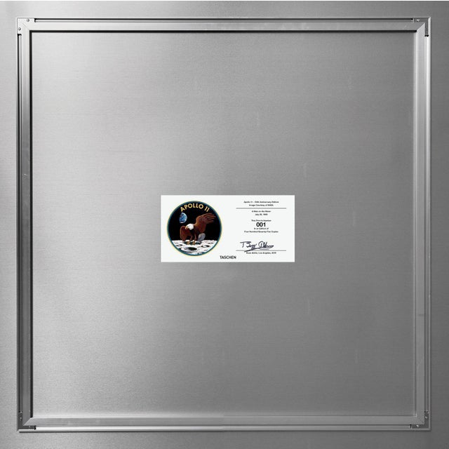 Autographed Buzz Aldrin Apollo 11 'Earthrise Sequence' Art Print For Sale - Image 10 of 11