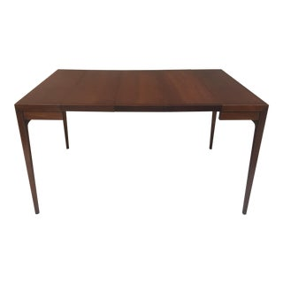 Mid-Century John Van Koert for Drexel Counterpoint Table With 3 Leaves For Sale