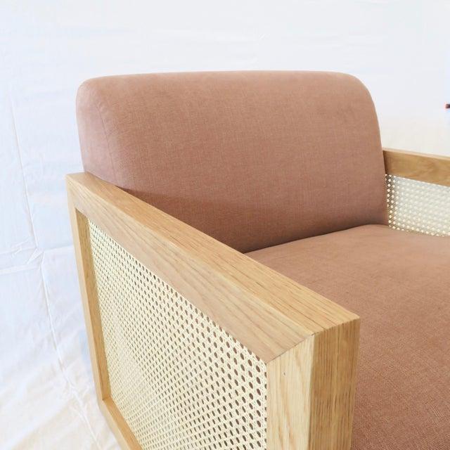 Custom Cane Armchair - Image 5 of 10
