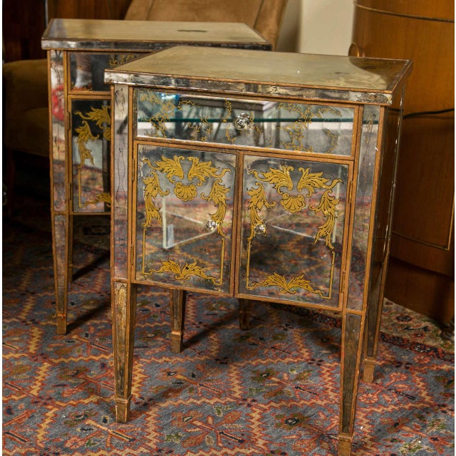 Verre Eglomise Mirrored Stand - Image 8 of 8