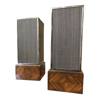 Theodore Alexander Wooden Table Lamps - a Pair For Sale