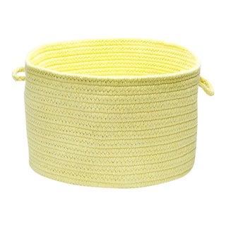 "Bristol Yellow 14""x10"" Utility Basket"