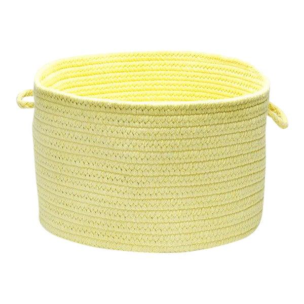 "Bristol Yellow 14""x10"" Utility Basket - Image 1 of 3"