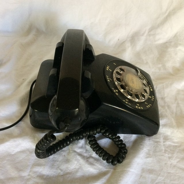Vintage Black Western Electric Telephone - Image 4 of 11