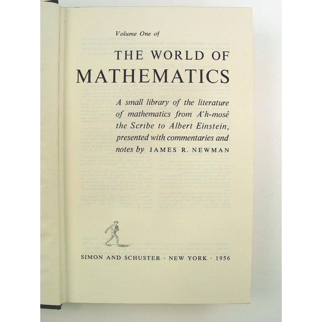 World of Mathematics - 4 Volumes - Image 6 of 9