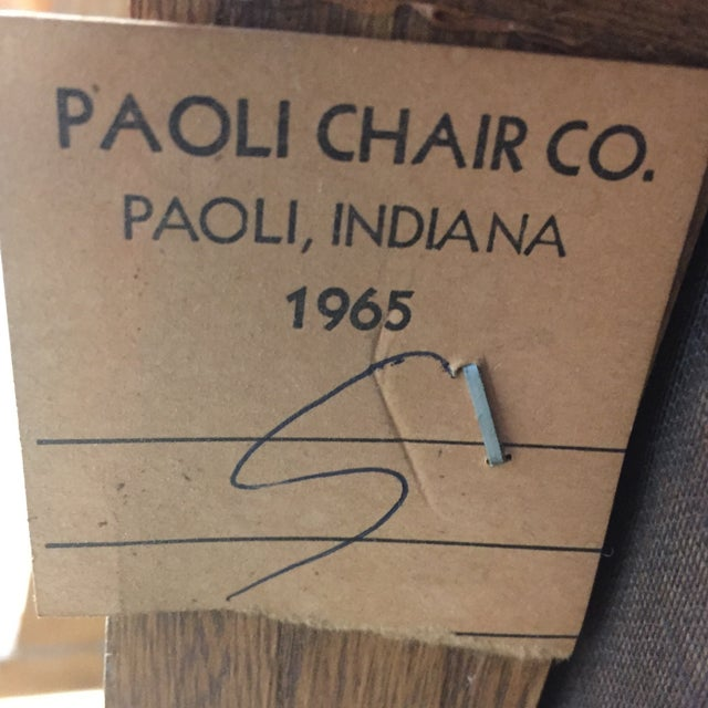 1965 Paoli Chair - Image 11 of 11