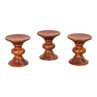 Vintage Eames Time Life Stools - Set of 3 For Sale