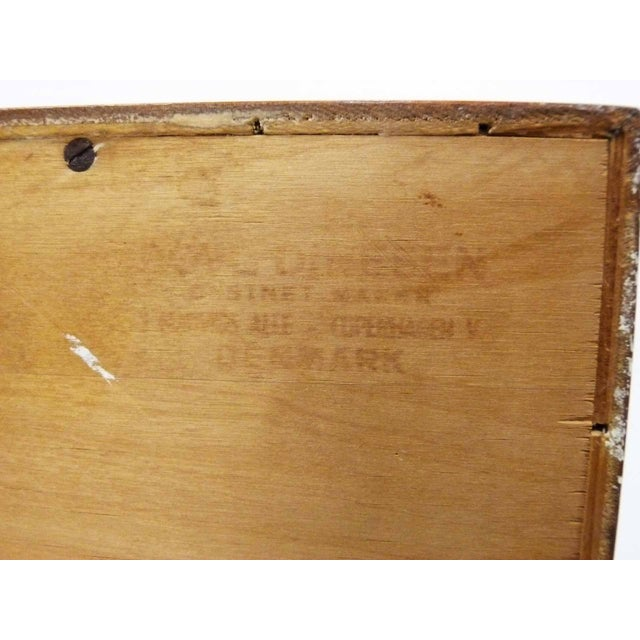 Danish Teak Record Cabinet by Povl Dinesen For Sale - Image 9 of 10