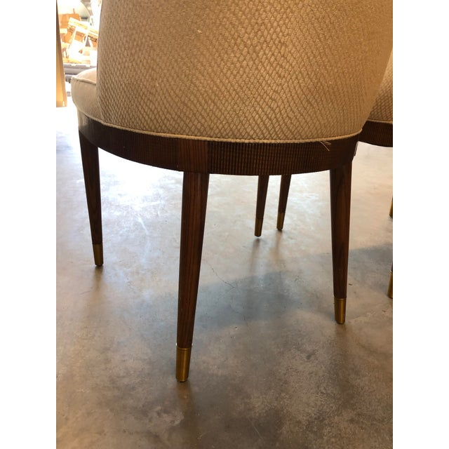 Animal Skin Modern Hickory Chair Lauren Dining Chairs- A Pair For Sale - Image 7 of 9