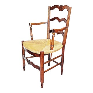 French Country Provencal Armchair For Sale