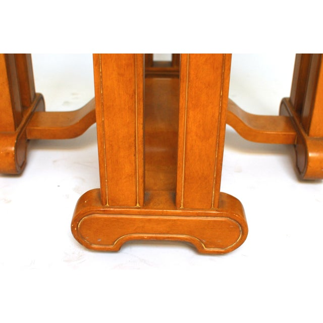 Asian Octagonal Dining Table - Image 5 of 6