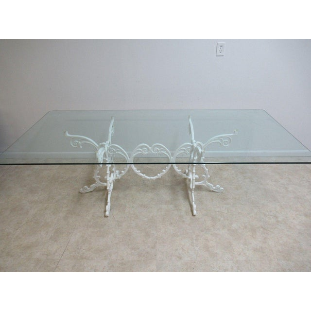 Vintage Aluminium French Regency Patio Porch Banquet Conference - Regency conference table