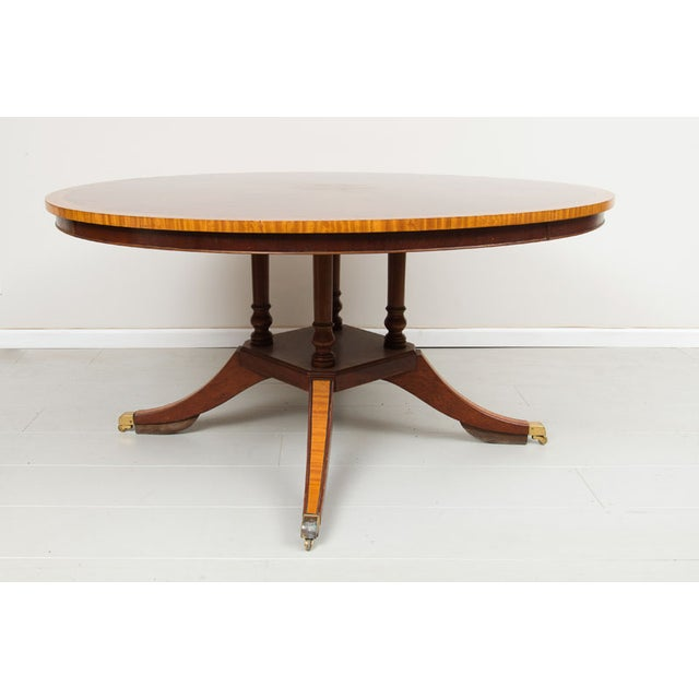 English Victorian Rosewood Dining Table - Image 3 of 5