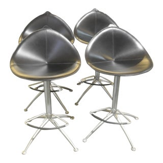 Fasem Fiorile Swivel Bar Stools - Set of 4