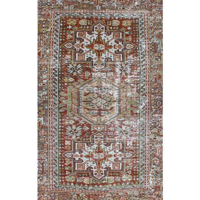Islamic 1930s Semi Antique Karadjeh Rug - 2′11″ × 4′5″ For Sale - Image 3 of 11