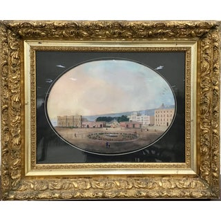 19th Century Italian Grand Tour Gouache For Sale