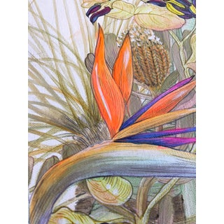 """Allison Cosmos """"Bird of Paradise"""" Contemporary Painting Preview"""