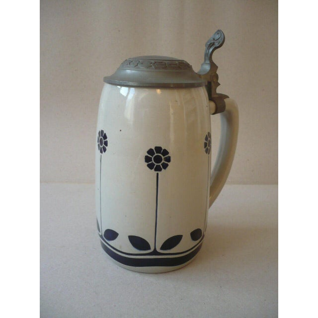 Art Nouveau German Beer Stein by Peter Behrens For Sale - Image 6 of 12