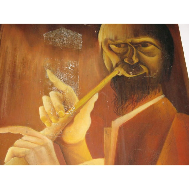 Trumpet Man Painting - Image 3 of 4