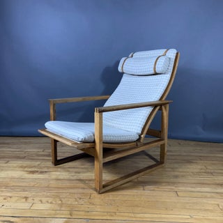 1950s Vintage Børge Mogensen Chair and Ottoman Set-A Pair Preview