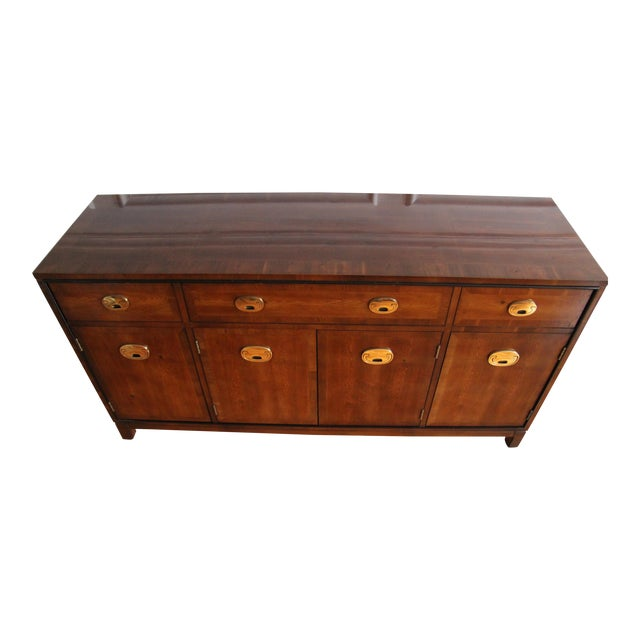 Hickory Manufacturing Company Campaign Style Buffet Server For Sale