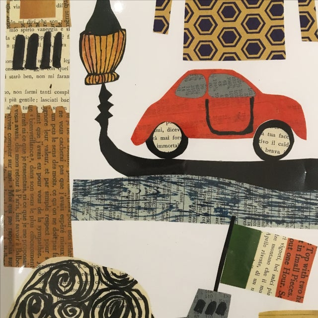 Italy Collage Print by Denise Fiedler - Image 4 of 4