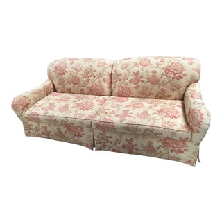 Rose Tarlow Lennox Floral Print Sofa For Sale