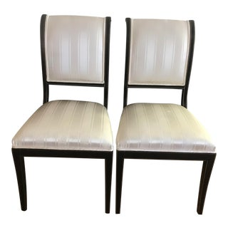 Kindel Neoclassical Side Chairs - A Pair For Sale