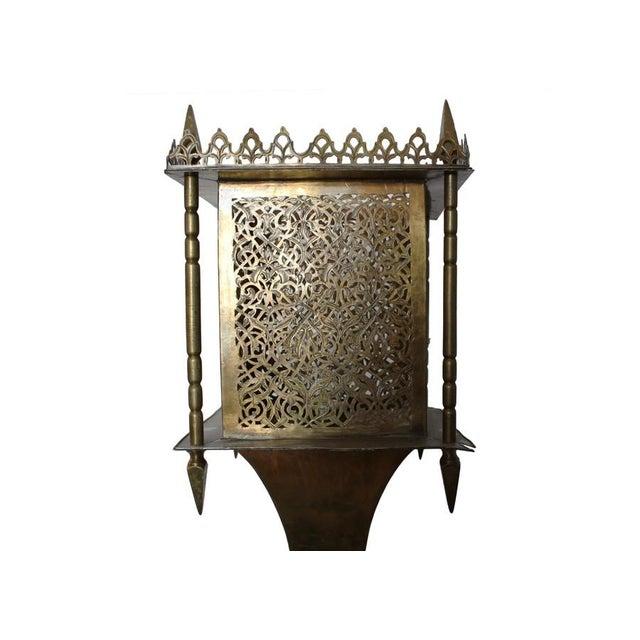 Brass Moroccan Style Lantern - Image 3 of 4