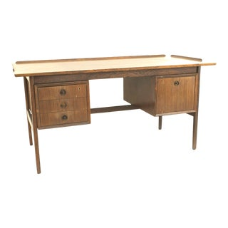 Danish Post-War Rosewood Executive Desk For Sale