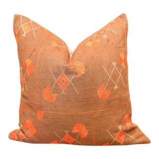 Anokhi Bagh Phulkari Pillow For Sale
