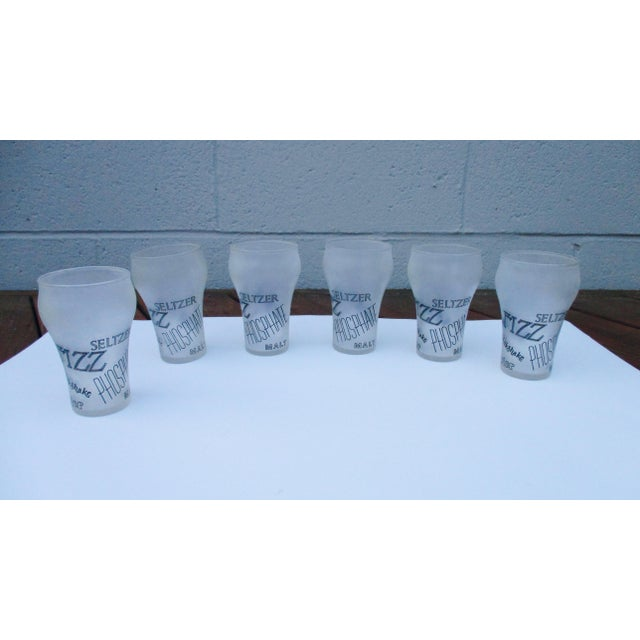 Retro Cocktail Soda Seltzer Glasses - Set of 6 - Image 2 of 11