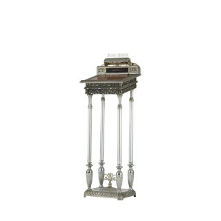 Vintage Art Nouveau Funeral Home Podium Stand For Sale