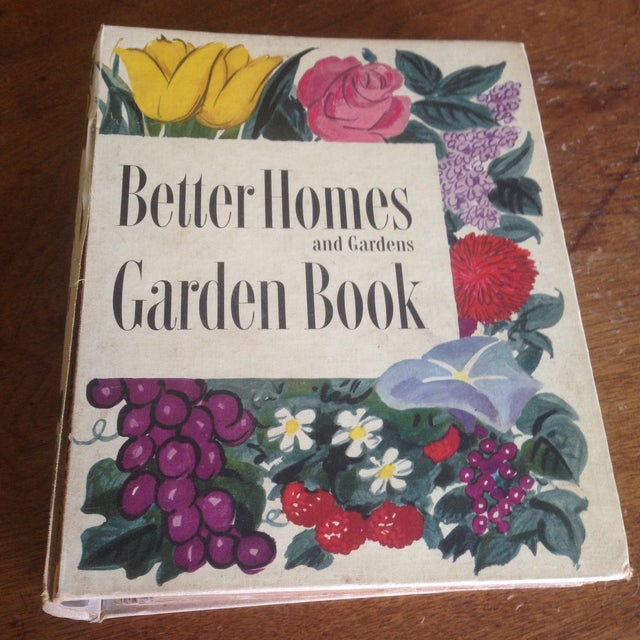 1951 Mid-Century Decorative Garden Book With Great Cover - Image 2 of 11