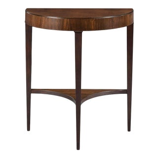 Modern Demilune Hall Table For Sale