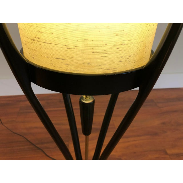Metal Modeline of California Sculptural Mid-Century Modern Floor Lamp For Sale - Image 7 of 13