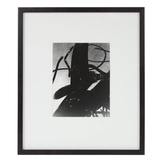 """Barbara Lewis """"Smoked Glass"""" Framed Abstract Black and White Photograph, 1969 Preview"""