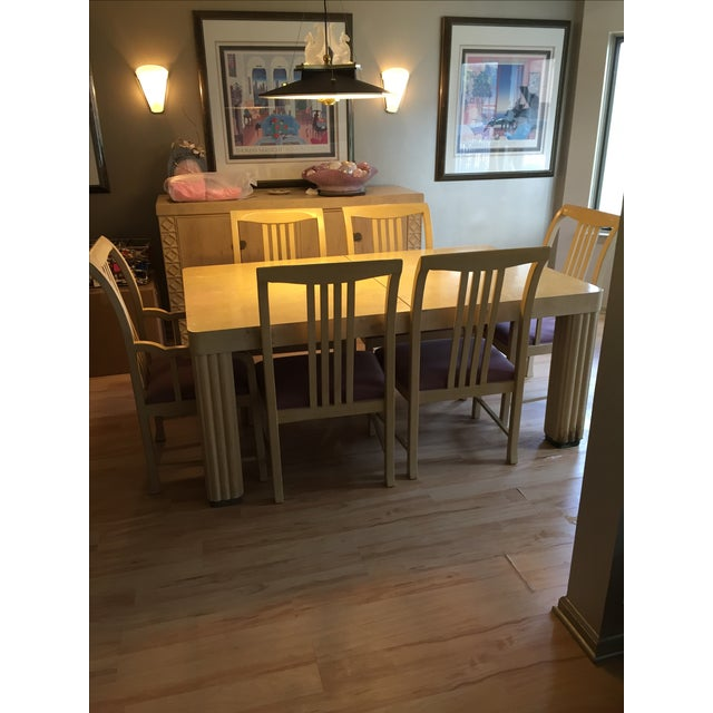 Hickory Furniture Maple Dining Set - Image 3 of 5