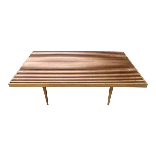 Georges Nelson Style Mid-Century Coffee Table - Image 1 of 3