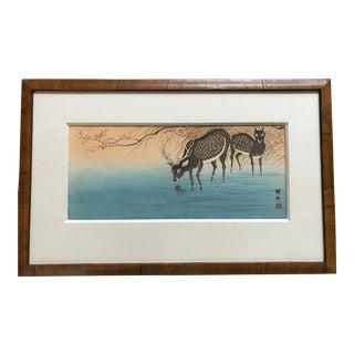 Ohara Koson Woodblock Print For Sale