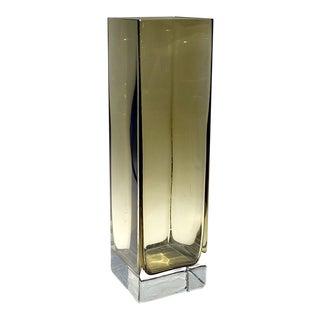 Gral-Glashütte Sommerso Vase by Emil Funke For Sale