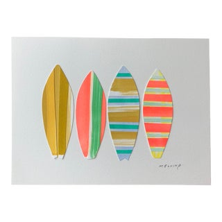 Contemporary Melvin G. Surfboard Collage #3 For Sale