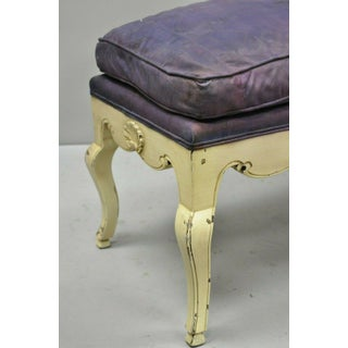 Early 20th Century Vintage French Louis XV Regency Neoclassical Style Bench Preview