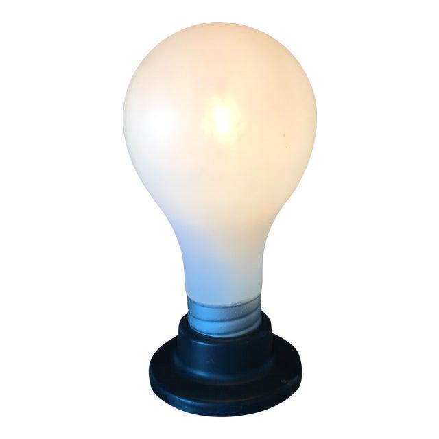 Vintage Lightbulb Table Lamp - Image 1 of 6