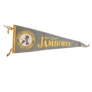 Vintage 1964 Boy Scout Jamboree Felt Flag Pennant