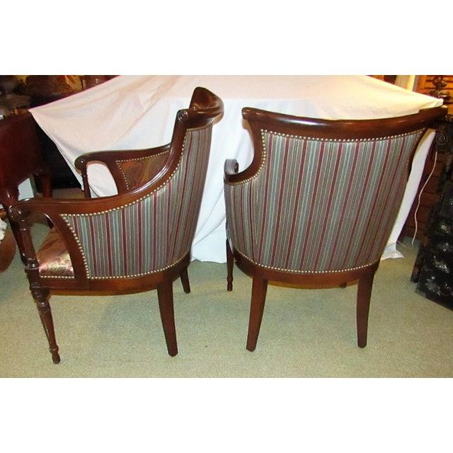 Regency Side Chairs - Pair - Image 5 of 6