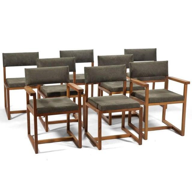 """De La Espada """"Long"""" Table in Black Walnut For Sale - Image 11 of 11"""